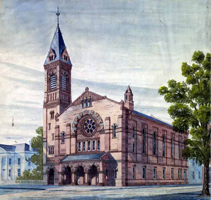 Church Architectural Drawings Union Congregational Church