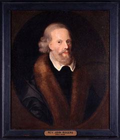Portrait Rev. John Rogers