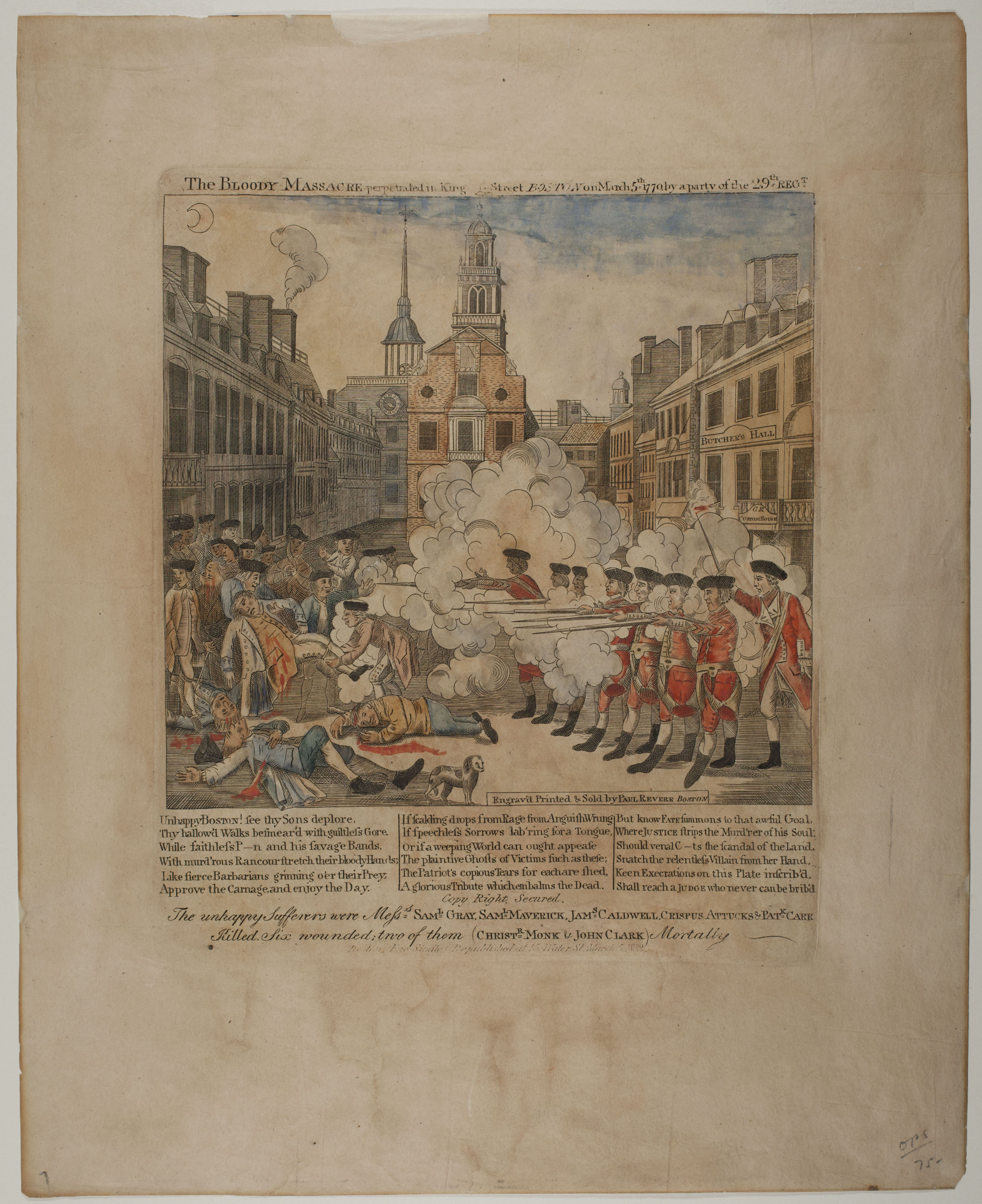 paul revere collection at the american antiquarian society