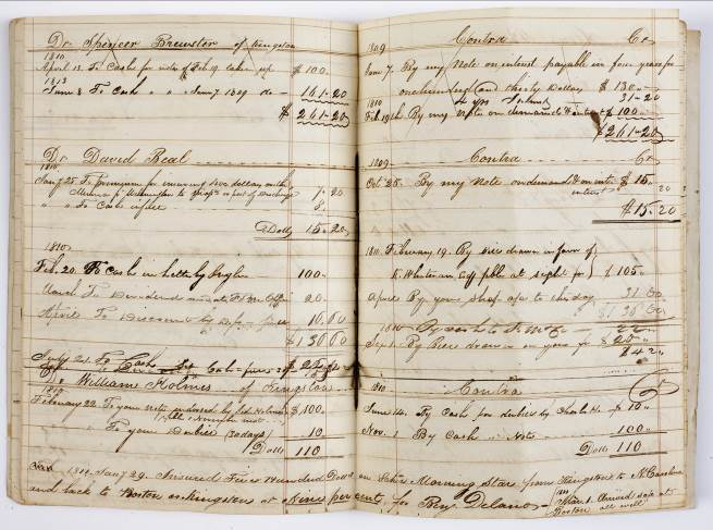 Thomas Beal Account Book