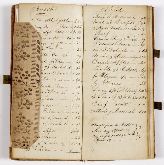Moses Kimball Journal