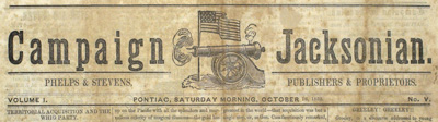 Campaign of 1852 Newspaper