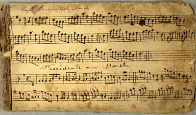 Early 19th Century Tunebook
