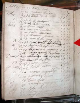 Whittemore Account Book