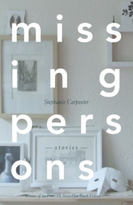 book cover of Carpenter's collection short stories titled Missing Persons