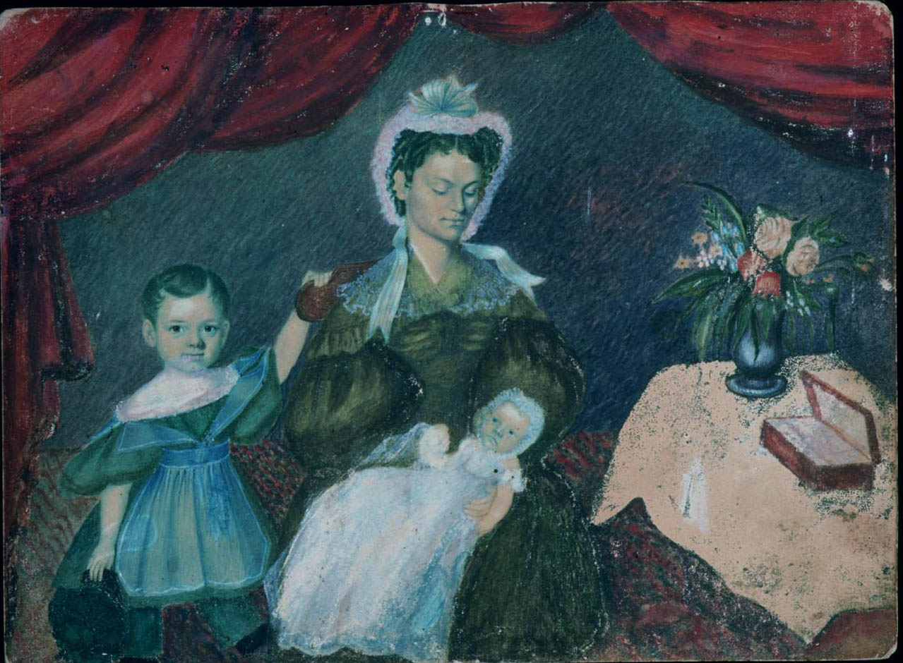 Mary Angela Negus Spooner and Children c 1835.JPG