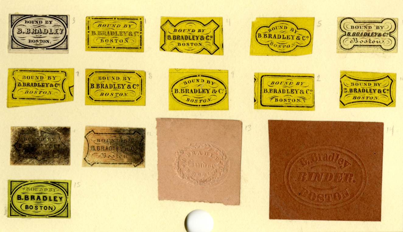 bookplates and booksellers labels american antiquarian society
