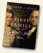 book cover for First Family: Abigail and John Adams