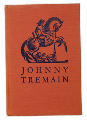 Johnny Tremain first edition cover