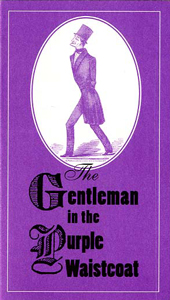 Gentleman with the  Purple Waistcoat card
