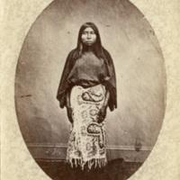 Wife of Man Who Packs the Eagle, Cut Head Dakotas