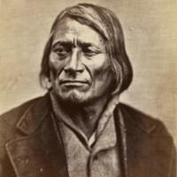 Ma-wa'-tan'-na-han'-ska, also known as Long Mandan and Tall Mandan, of the Two Kettle, Dakota Indians