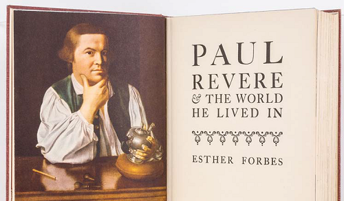 Esther Forbes, Paul Revere and the World He Lived In, 1942