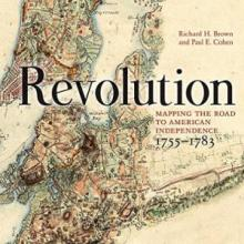 Revolution: Mapping the Road to American Independence. Book cover