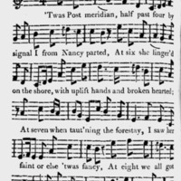 "Sheet Music for ""The Sailor's Journal"""