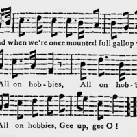 "Sheet Music for ""The Hobbies"" Part 2"