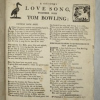 A Country love song, together with Tom Bowling: