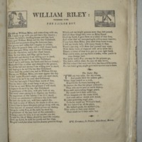 William Riley: together with the Sailor boy