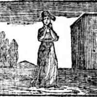 Woodcut for Fair Rosamond : a lamentable ditty