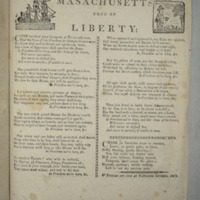 Massachusetts song of liberty: