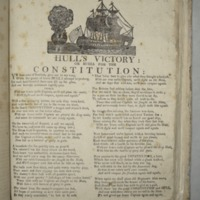 Hull's victory: or Huzza for the Constitution