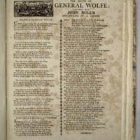 The Death of General Wolfe: together with John Bull's description of a church