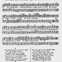 "Sheet Music for ""The Chambermaid"""