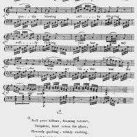 """Sheet Music for """"Cease Ye Fountains, Cease to Murmer"""" Part 2"""