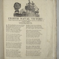 Eighth naval victory : Lines, composed on the capture of his Britannic Majesty's squadron, on Lake Erie, by Commodore Perry ...