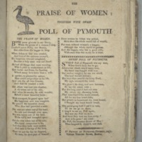 The Praise of women: together with Sweet Poll of Plymouth