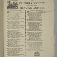 The Friendly society, together with Heaving anchor