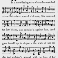 """Sheet Music for """"General Wolfe"""""""