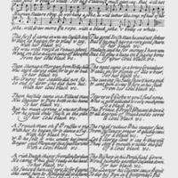 """Sheet Music for """"The Original black Joke sent from Dublin"""""""