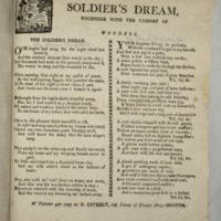 The soldier's dream, together with The cabinet of wonders