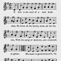"Sheet Music for ""A Sprig of Shillelah"""
