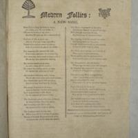 Modern follies: a new song