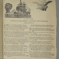 A new song, composed by James Campbell, a boatswain's mate on board the Constitution