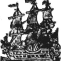 Woodcut for Lord Nelson's battle of the Nile