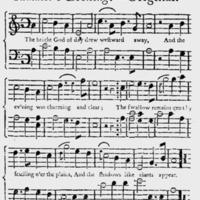 """Sheet Music for """"Summer's Evening"""""""