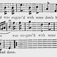 """Sheet Music for """"General Wolfe"""" Part 2"""