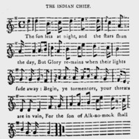 "Sheet Music for ""The Indian Chief"""