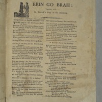 Erin go brah : together with St. Patrick's day in the morning