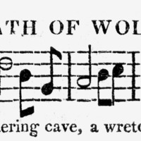 """Sheet Music for """"Death of Wolfe"""""""
