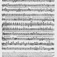 """Sheet Music for """"The British Granadiers"""""""