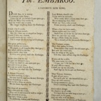 The embargo. A favorite new song