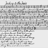 "Sheet Music for ""Jockey to the Fair"""
