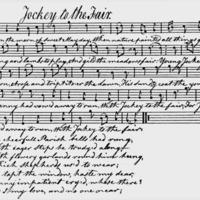 "Sheet Music for ""Jockey to the Fair"""