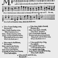 "Sheet Music for ""Freemens Songs of 4 Voices"""