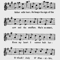 "Sheet Music for ""Judy O'Flannikin"" Part 2"