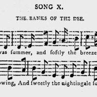 """Sheet Music for """"The Banks of the Dee"""""""